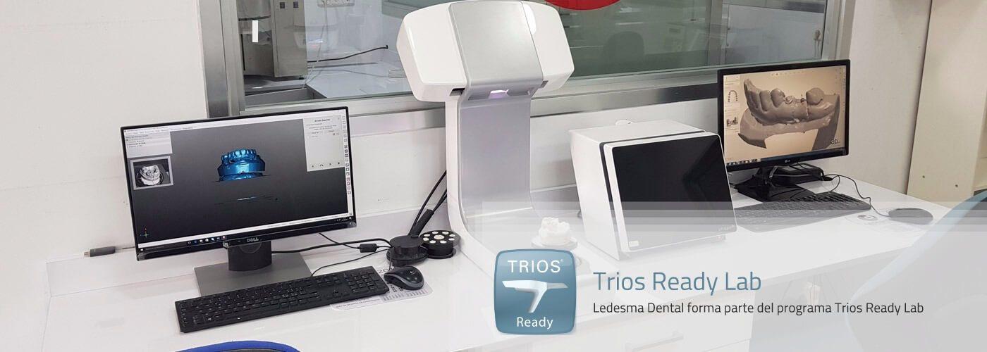 nuestro laboratorio forma parte del programa trios ready lab